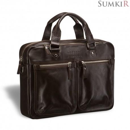 Brialdi Parma (Парма) brown Деловая сумка для документов